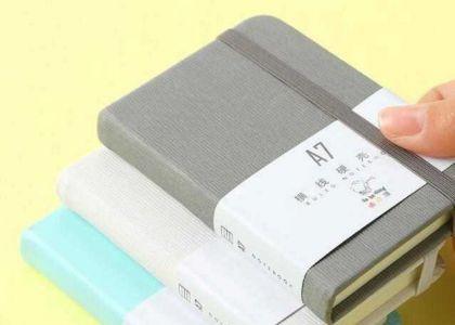 选择礼品记事本制作厂家材质的必然性_定制的材料