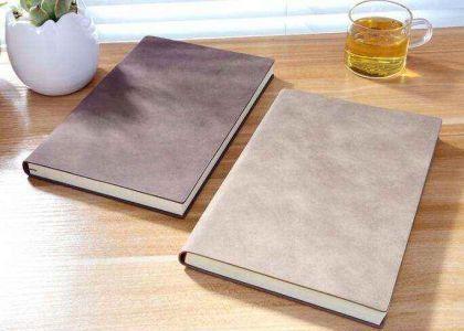 上海精美笔记本定做选择什么样的材料和工艺是有讲究的_制作质量