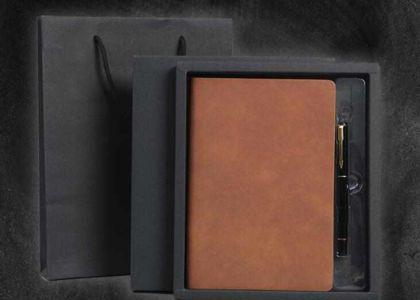 上海高档笔记本订做时,为什么要重视皮料材质的选择?_定做质量