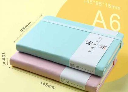 上海定制活页笔记本大多以pu材料为主,为什么?_定做细节