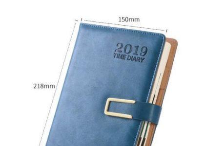 企业选择上海皮制记事本印刷时,为什么都喜欢a5尺寸?_制作经验