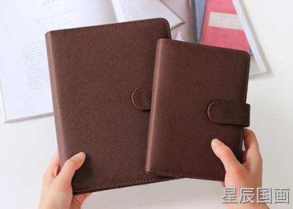 如何选择订做真皮记事本厂家产品的封面材料?_定制内容