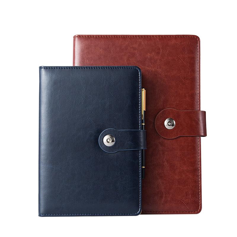 商务搭扣笔记本定制办公用品